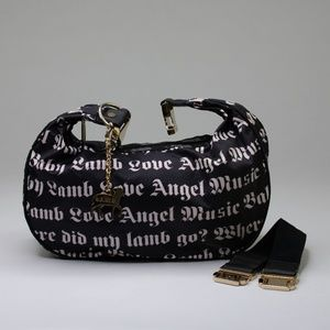Le Sportsac L.A.M.B Black and White Hobo Bag